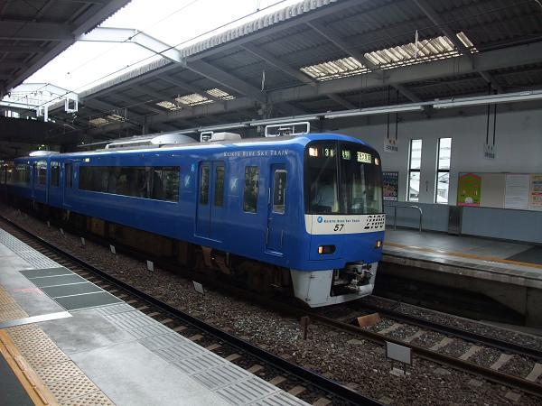 画像東急・地下鉄京急 東急中華街 京急羽田空港線 青い電車.JPG